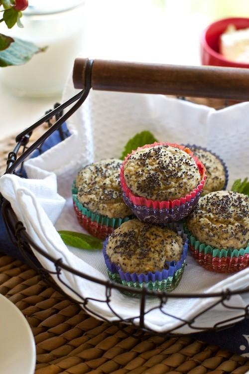 Healthy gluten free muffin recipe by Marla Meridith