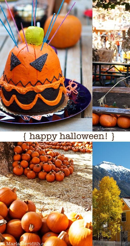 Happy Halloween from Telluride, CO. & Orange County, CA! MarlaMeridith.com