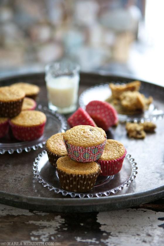 Cranberry Cornbread Muffins - Gluten Free | MarlaMeridith.com