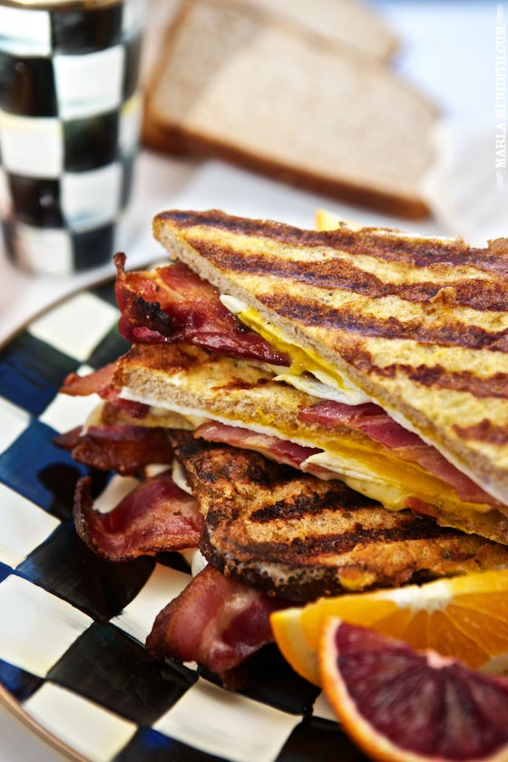 recipe: french toast with bacon and cheese [11]