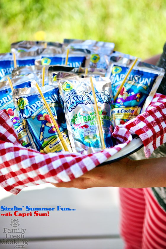 Summer Fun with Capri Sun! | MarlaMeridith.com