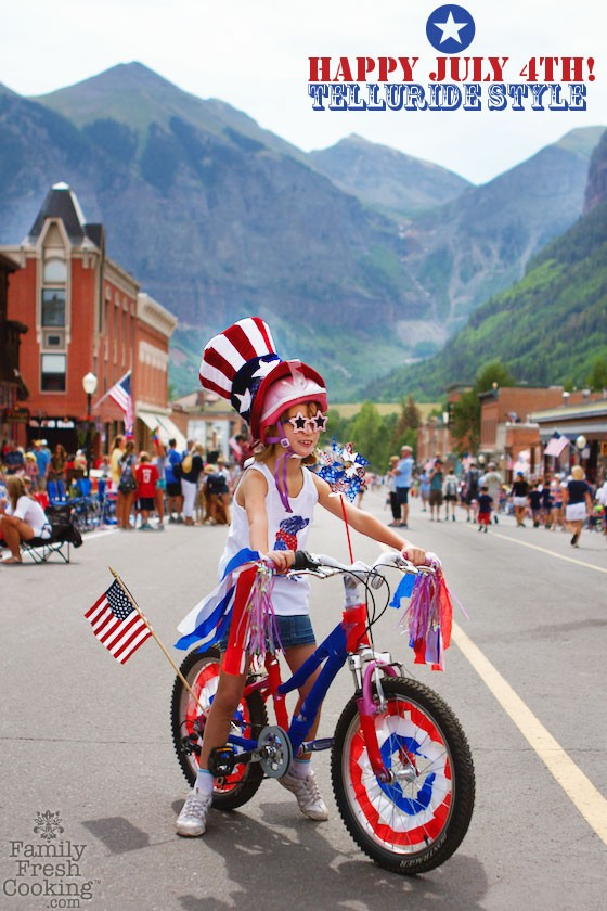 Happy July 4th! Telluride, Colorado Style | MarlaMeridith.com