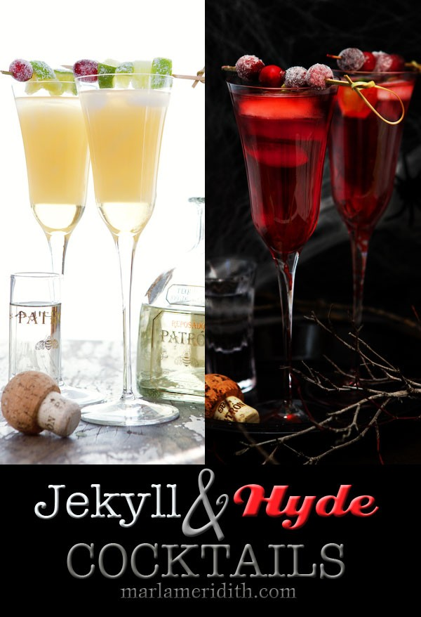Jekyll & Hyde Cocktails | Will be the HIT at any Halloween & Holiday Party | MarlaMeridith.com