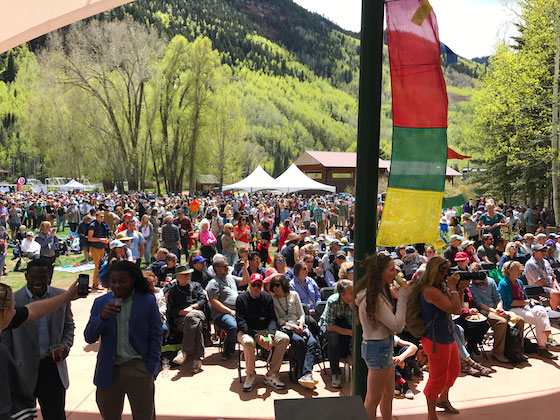 Telluride Mountainfilm 2017: The New Normal. An epic weekend of films that inspires audiences to create a better world.. MarlaMeridith.com ( @marlameridith )