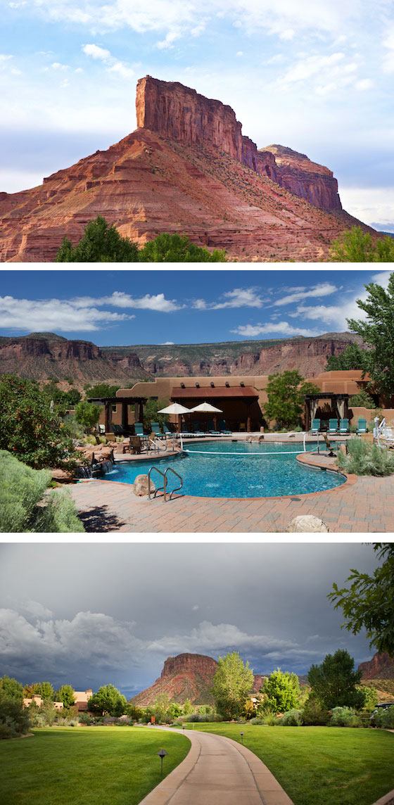 Beautiful Views at Gateway Canyons Resort in Colorado | MarlaMeridith.com #travel #colorado #usa