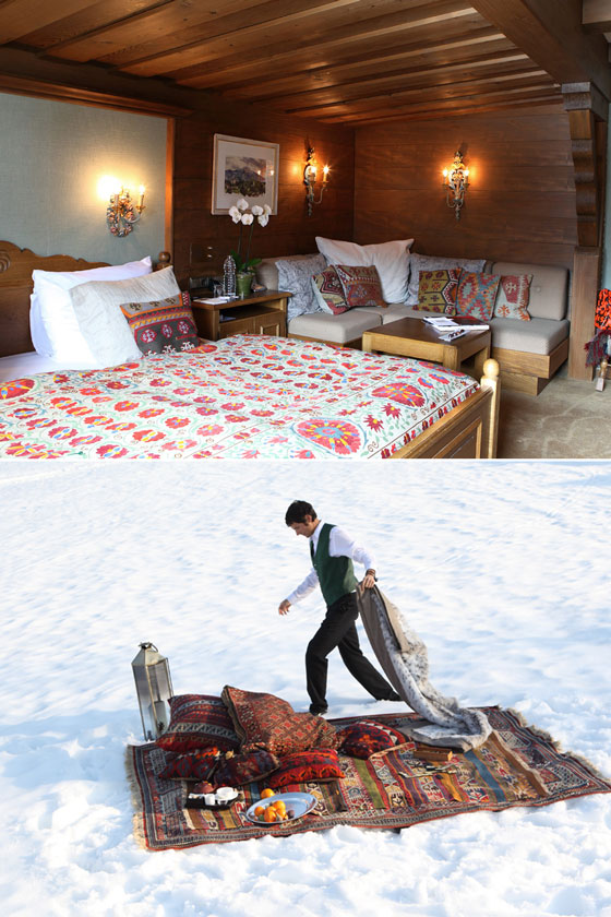 Bucket List: Luxury Romantic Ski Hotels in the Alps : Hotel Kristiana, Lech, Austria