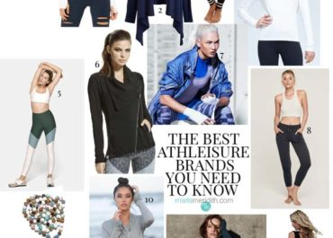 The Best Athleisure Brands You Need to Know | MarlaMeridith.com #fitness #yoga #fashion