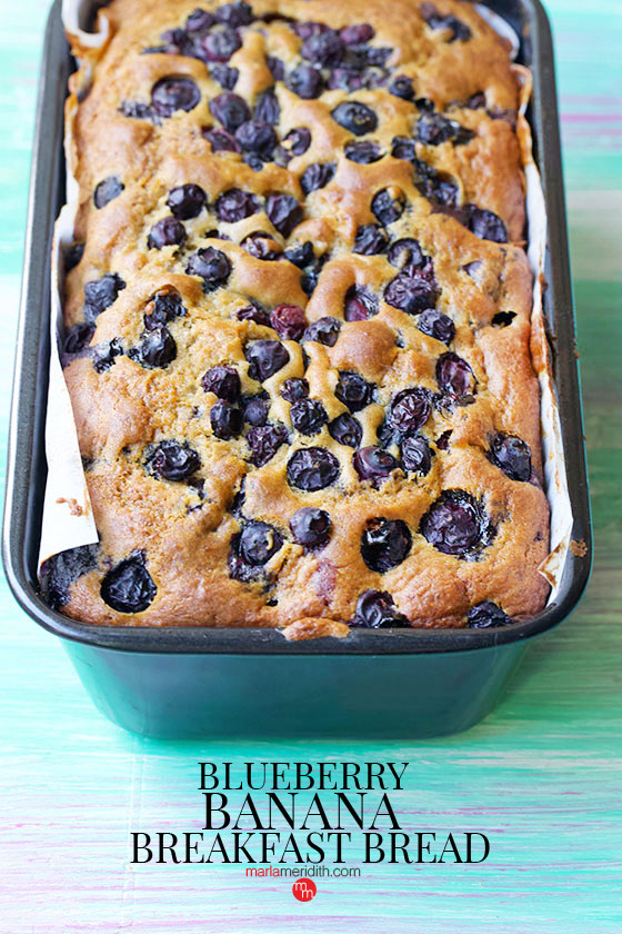 Get the recipe for this delicious Blueberry Banana Breakfast Bread on MarlaMeridith.comGet the recipe for this delicious Blueberry Banana Breakfast Bread on MarlaMeridith.com