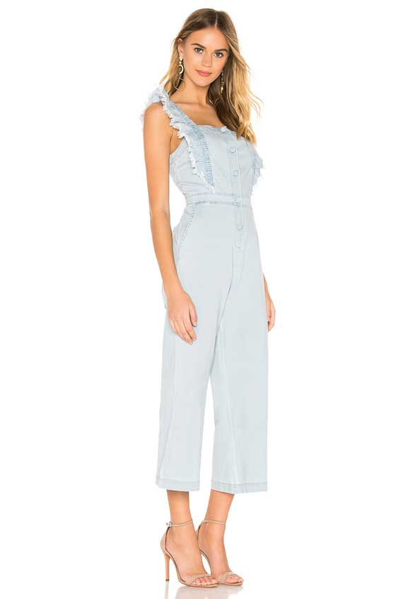 Mix things up this season with the denim jumpsuit! What used to be known as utility wear is now super chic and fashionable playsuits. Have fun dressing them up or keep things more casual. The choice is all yours! MarlaMeridith.com