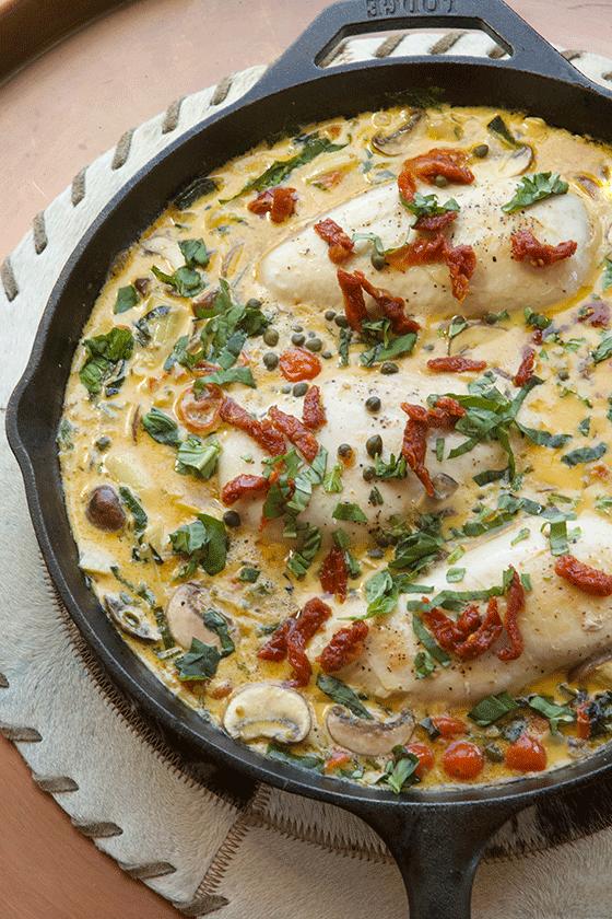 One-Pot Tuscan Chicken recipe aka: Marry Me Chicken