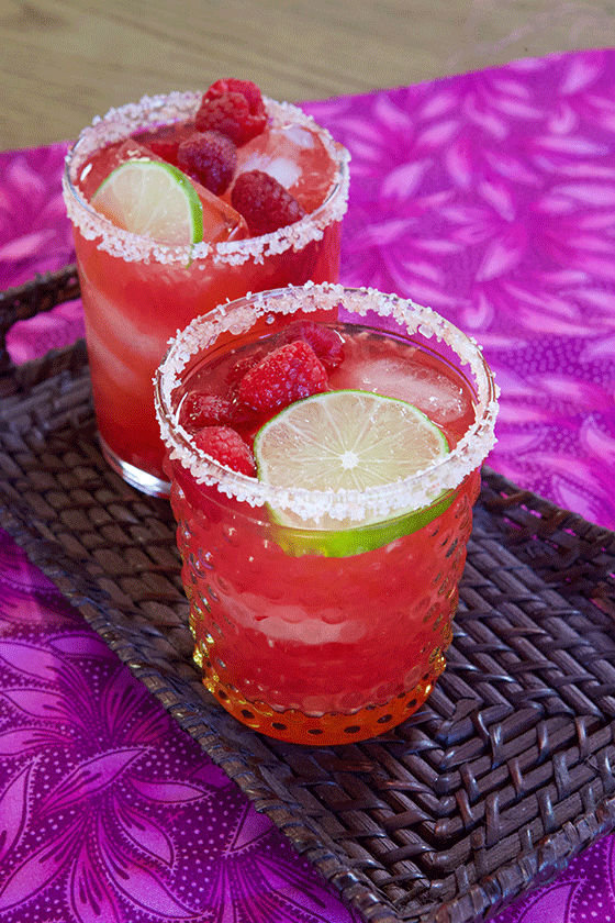 Delicious & Easy Fresh Raspberry Margaritas Recipe