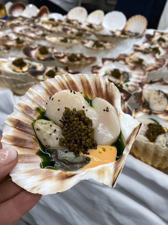 Add to your bucket list! The St. Moritz Gourmet Food Festival