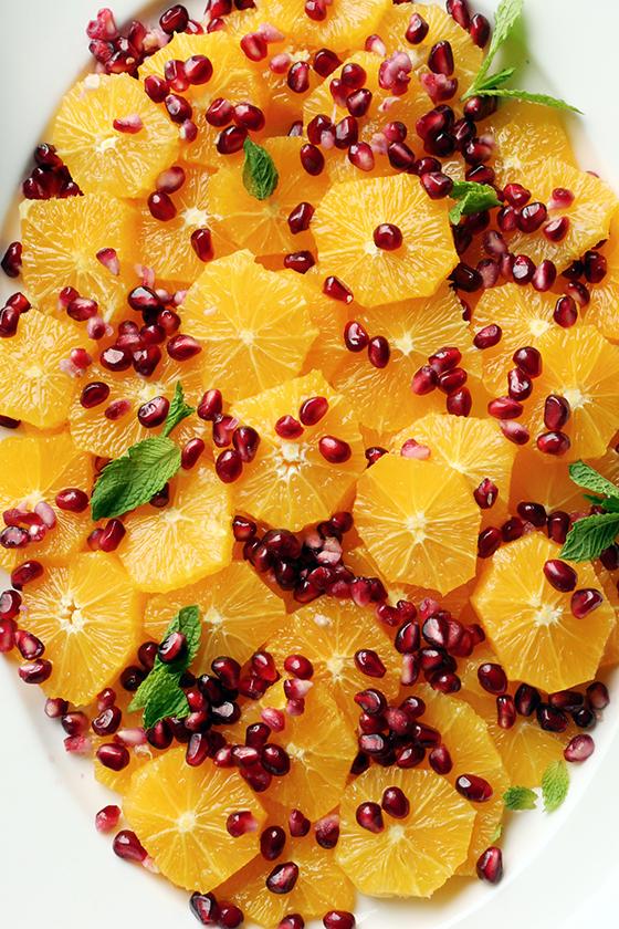Vegan Amaretto Orange Salad with Coconut Yogurt Sauce recipe